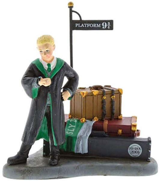 Harry Potter Village by D56 DRACO WAITS AT PLATFORM 9 3/4 6003333