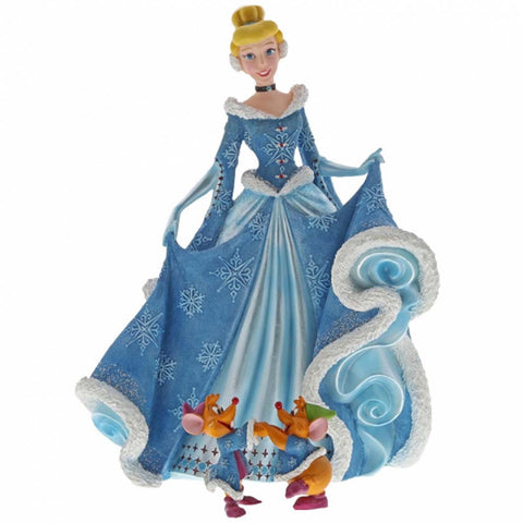 Disney Showcase Collection CHRISTMAS CINDERELLA FIGURINE 6002181