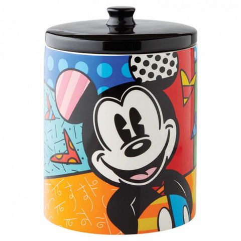 Britto MICKEY MOUSE COOKIE JAR Disney 6004975