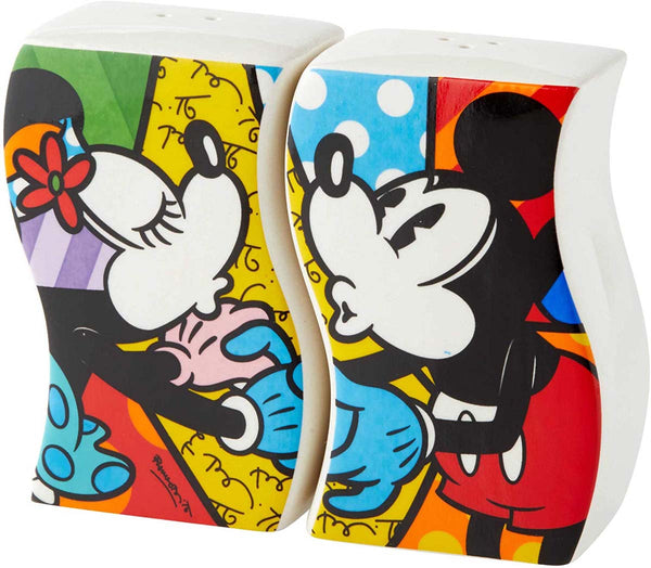 Disney BRITTO Collection MICKEY & MINNIE S & P SHAKERS 6004978