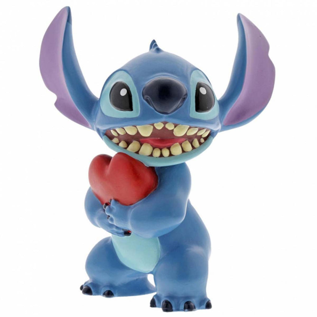 Disney Showcase Collection STITCH HEART FIGURINE 6002185