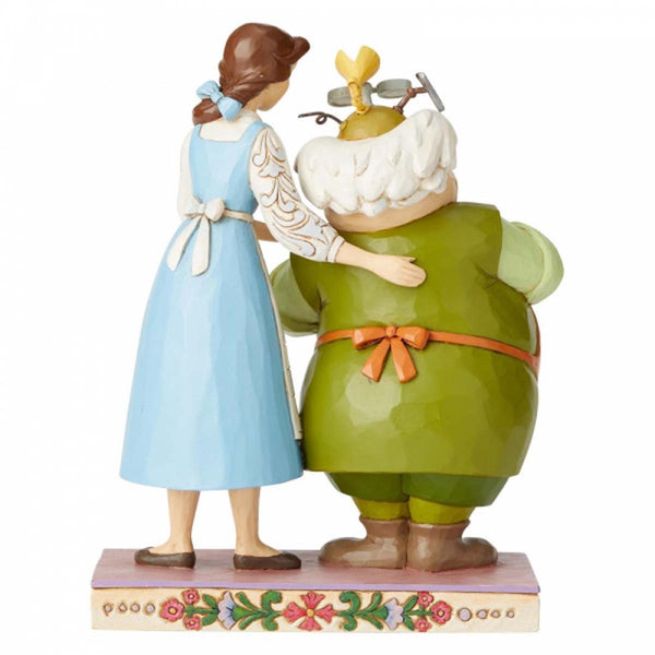 Disney Traditions BELLE AND MAURICE FIGURINE 6002806