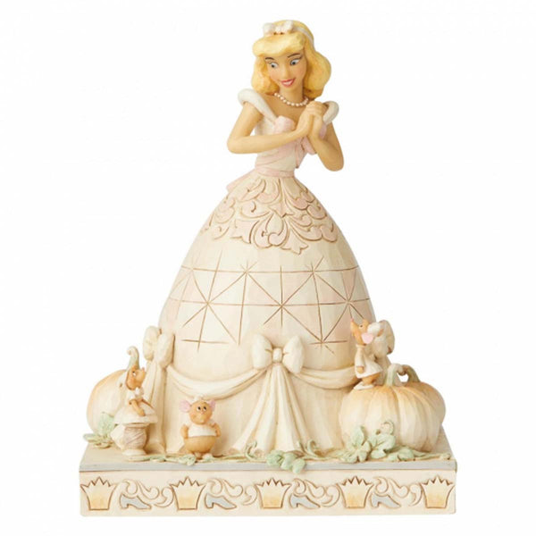 Disney Traditions CINDERELLA WHITE WOODLAND 6002816