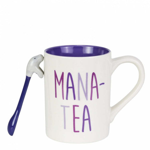 Our Name Is Mud MANA-TEA MUG WITH SPOON SET 6003680