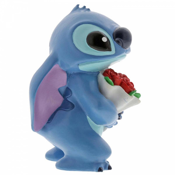 Disney Showcase Collection STITCH FLOWERS FIGURINE 6002186