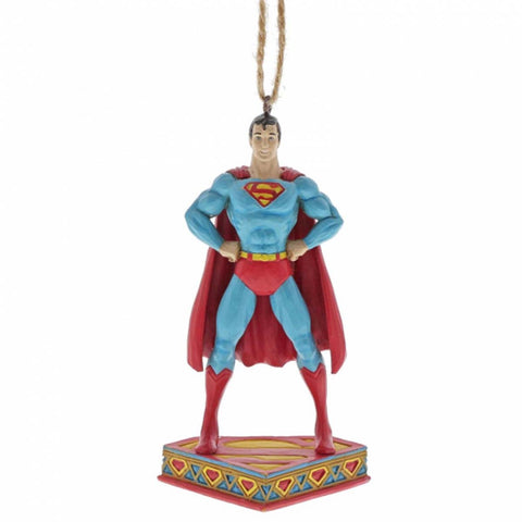 DC Comics by Jim Shore SUPERMAN HANGING ORNAMENT 6005071