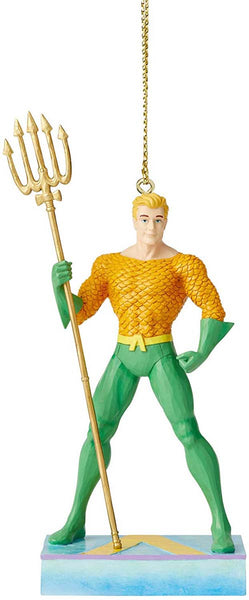 DC Comics by Jim Shore AQUAMAN HANGING ORNAMENT 6005076