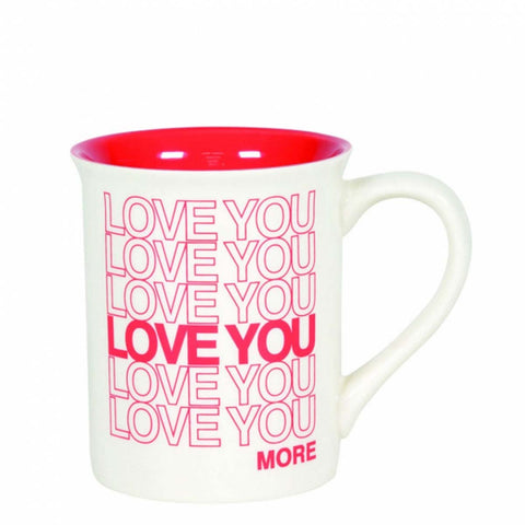 Our Name Is Mud LOVE YOU TYPE MUG 6005727