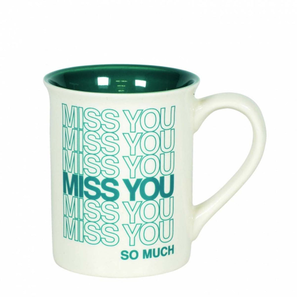 Our Name Is Mud MISS YOU TYPE MUG 6006215