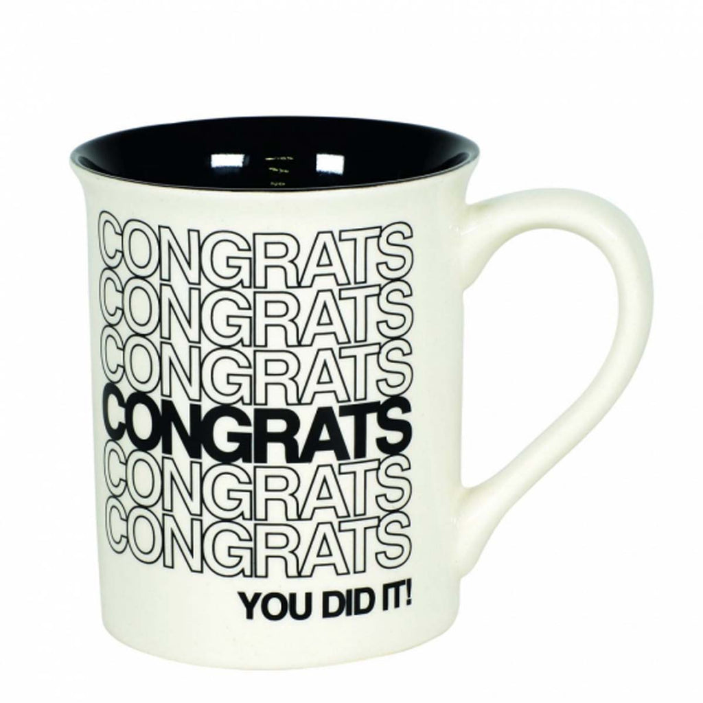Our Name Is Mud CONGRATS TYPE MUG 6006217