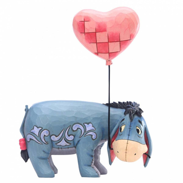 Disney Traditions Winnie The Pooh EEYORE WITH A HEART BALLOON  6005965