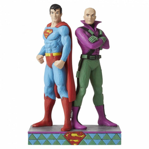 DC Comics by Jim Shore SUPERMAN AND LEX LUTHOR 6005981
