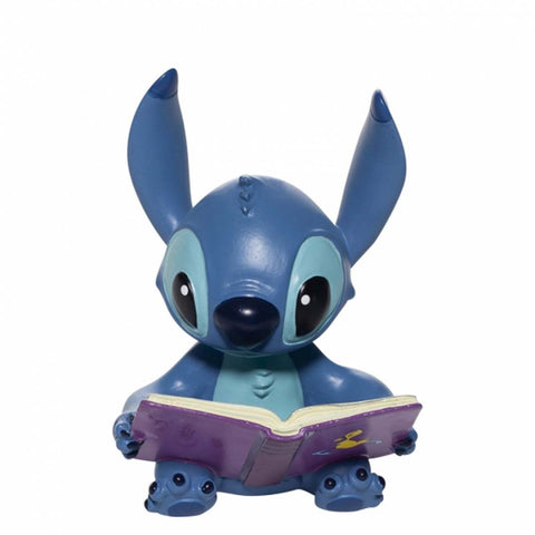 Disney Showcase Collection STITCH BOOK FIGURINE 6006207