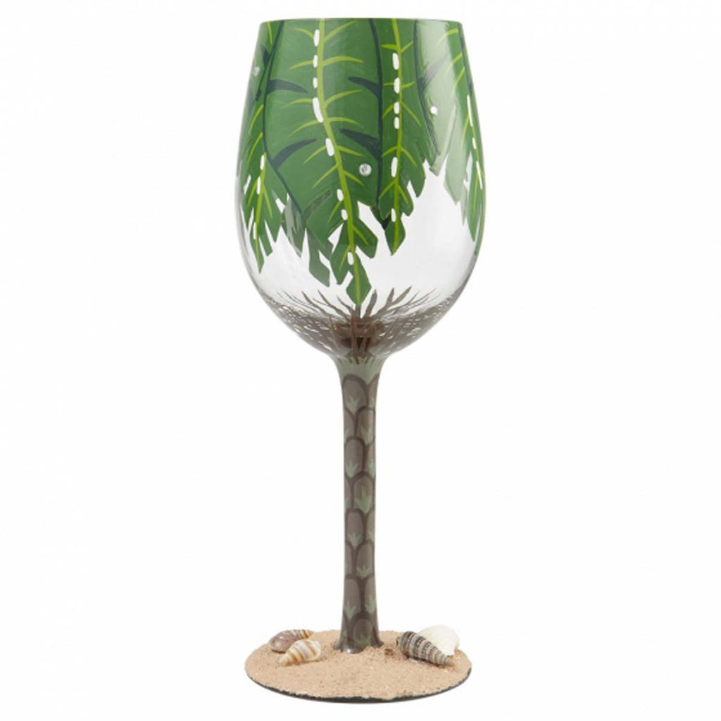 Lolita PALM TREE WINE GLASS 6007485