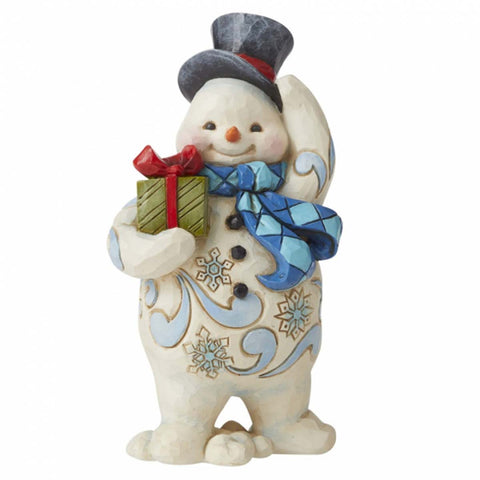 Heartwood Creek by Jim Shore WALKING SNOWMAN GIFT PS 6006654