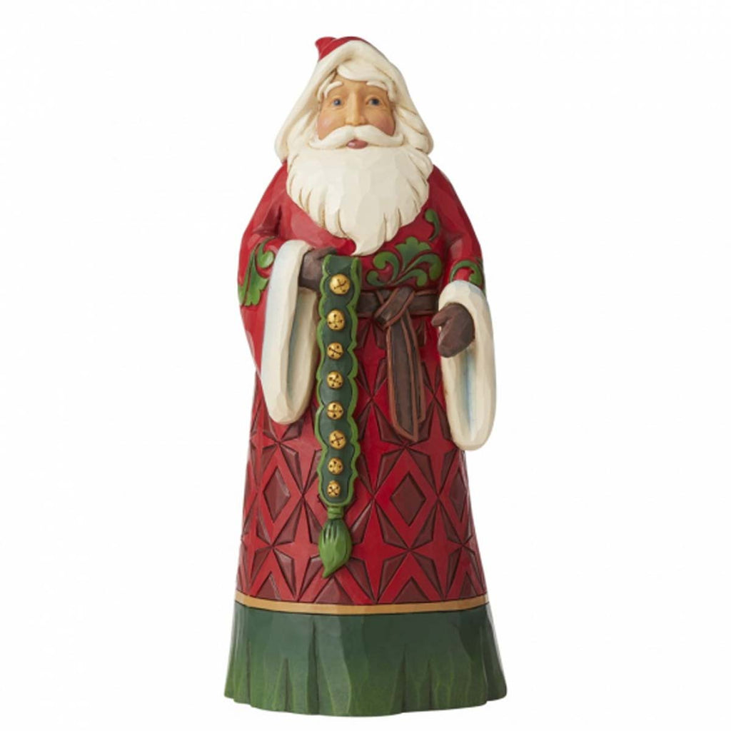 Heartwood Creek by Jim Shore SANTA WITH BELLS FIGURINE 6006638