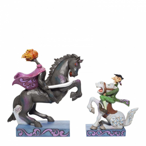 Jim Shore HEADLESS HORSEMAN The Adventures of Ichabod & Mr.Toad Figurine 6007059
