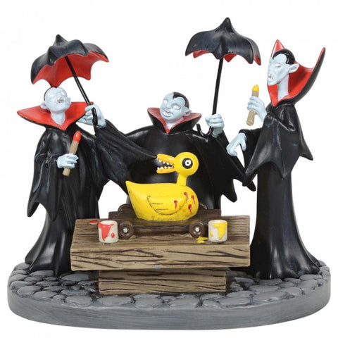 The Nightmare Before Christmas VAMPIRE BROTHERS FIGURINE  RESIN  6005596