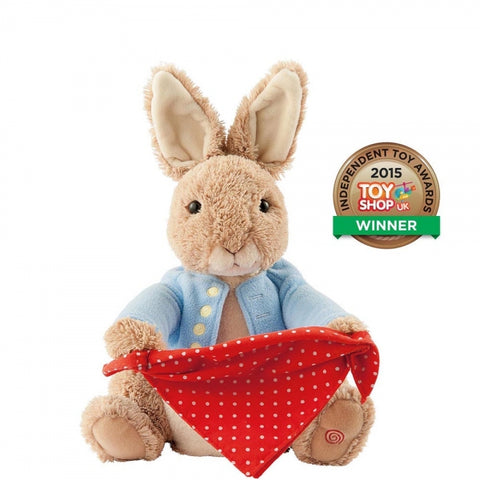 Beatrix Potter Peter Rabbit Peek a Boo Soft Toy