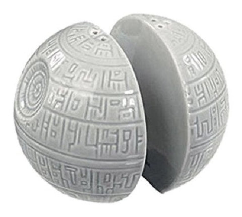 Star Wars Death Star Salt and Pepper Shakers