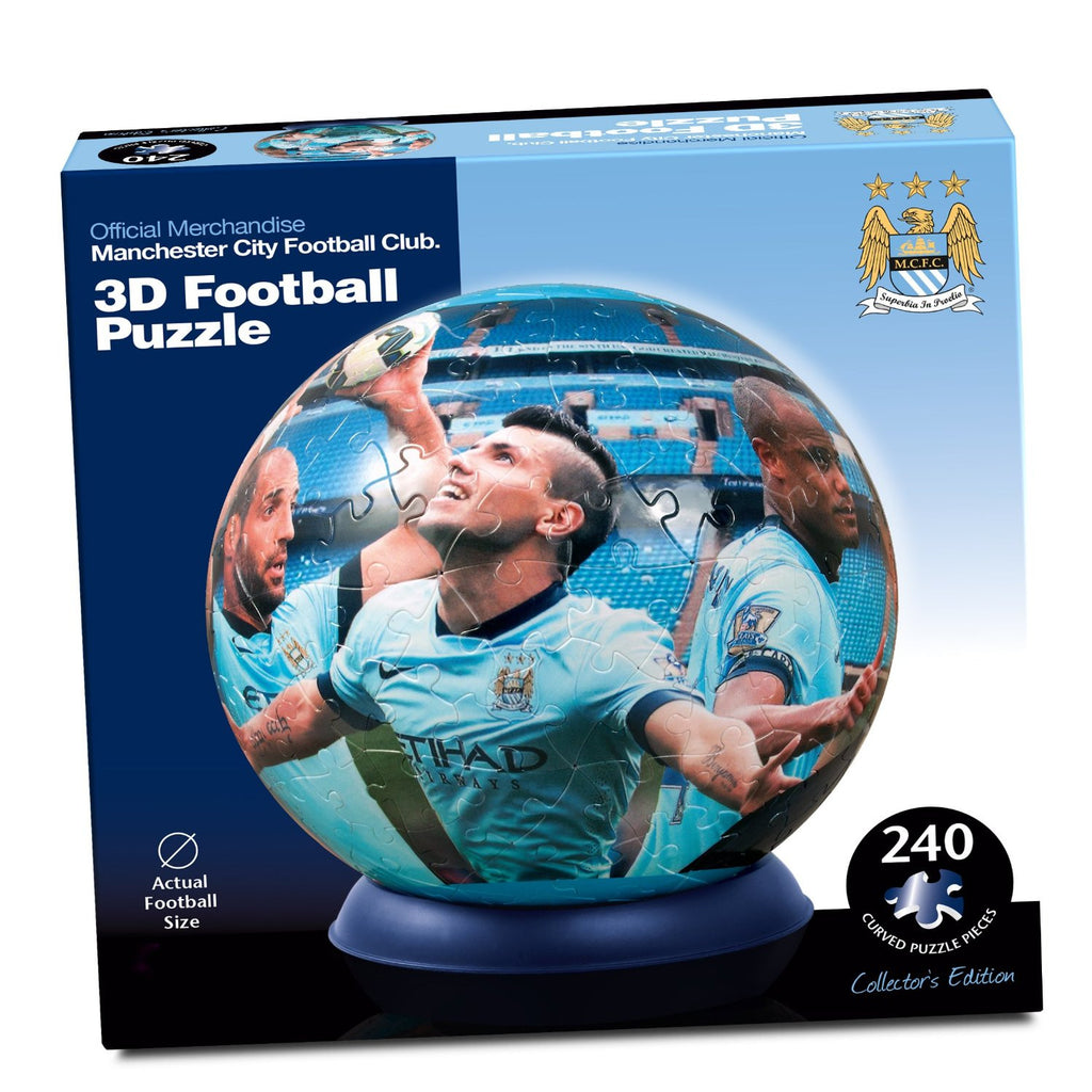 Manchester City 3D Puzzle By Paul Lamond Football