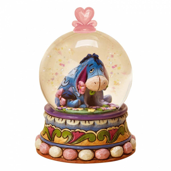 Disney Traditions GLOOM TO BLOOM EEYORE WATERBALL SNOW GLOBE 4015351