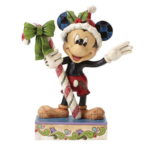 Disney Traditions Sweet Greetings Mickey Mouse Ornament New Boxed