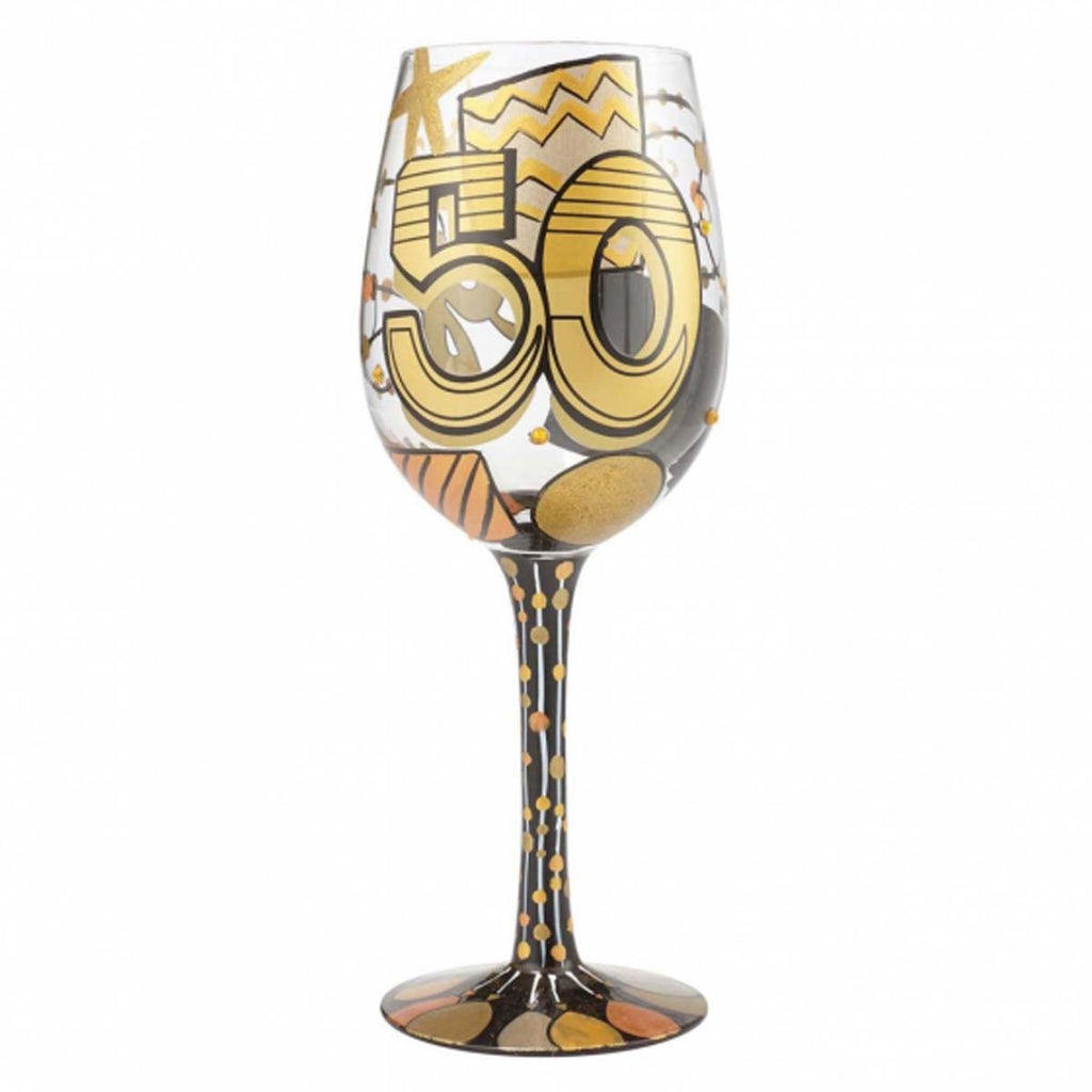 Lolita 50th Birthday Wine Glass Boxed