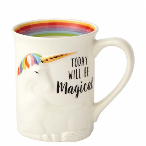 Our Name Is Mud MAGICAL SCULPTED UNICORN MUG 6000548