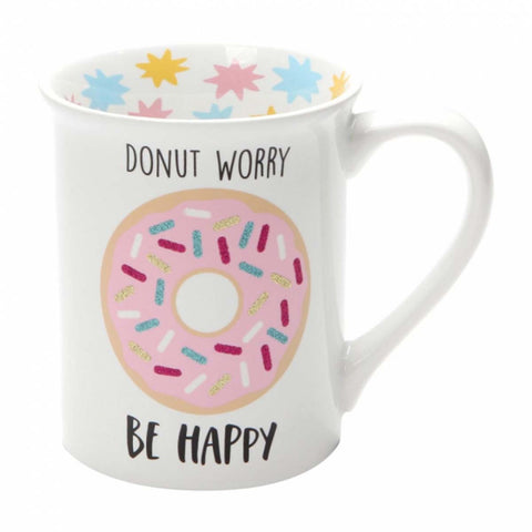 Our Name Is Mud DONUT WORRY MUG 6001222