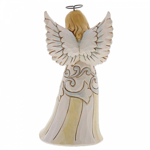 Heartwood Creek by Jim Shore WOODLAND ANGEL W/DOG 4060962
