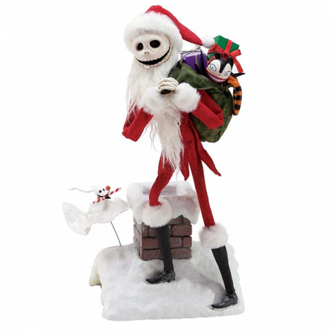 Possible Dreams JACK & ZERO Nightmare Before Christmas Figurine 6000810