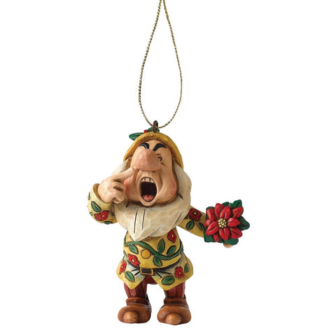 Disney Traditions Sneezy Dwarf Christmas Hanging Ornament
