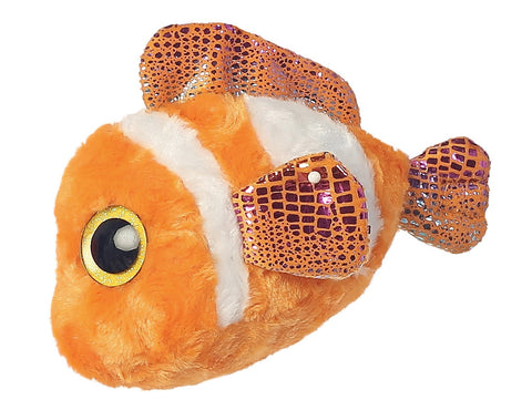 Aurora World 8-Inch Yoohoo and Friends Clownee Clown Fish Plush Toy