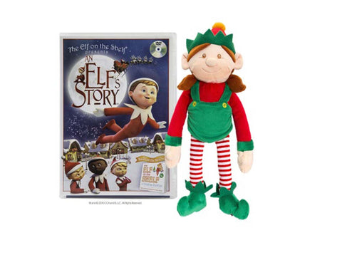 An Elf's Story DVD with 25cm Plush Girl Elf New