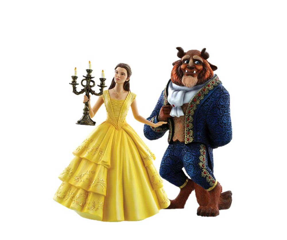 Disney Showcase Live Action Belle and the Beast Figurine New Boxed