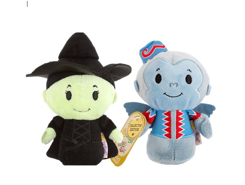 Wizard of Oz Set Of Wicked Witch and Winged Monkey Itty Bittys Soft Toy New With Tags