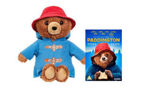 Paddington Movie Bear and Paddington The Movie DVD