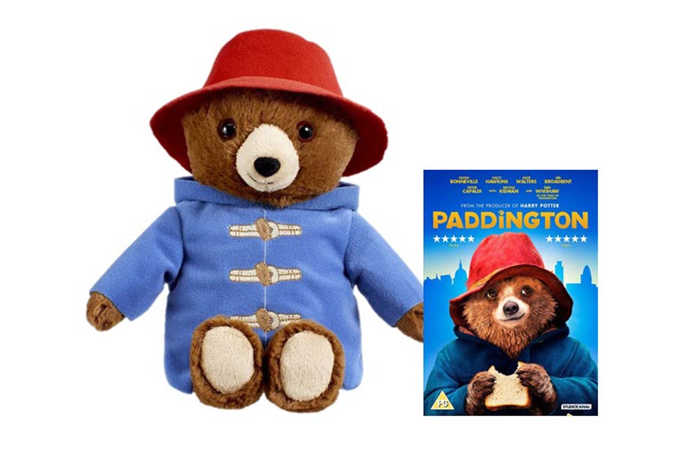 Paddington Talking Movie Bear and Paddington The Movie DVD