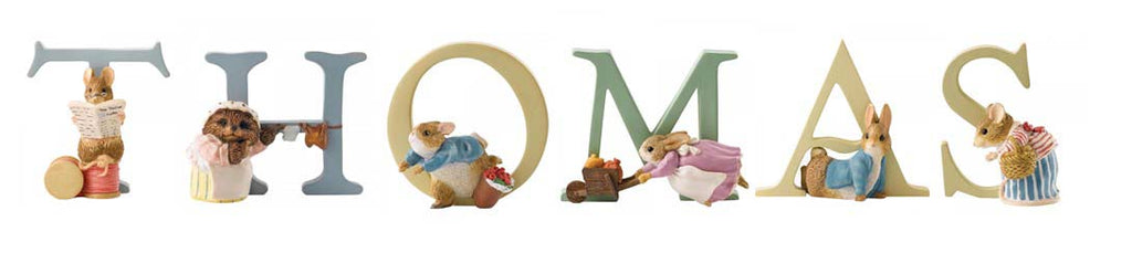 Beatrix Potter Alphabet Letters 'Thomas' Set
