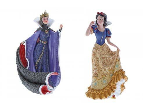 Disney Snow white and Evil Queen Figurine Set