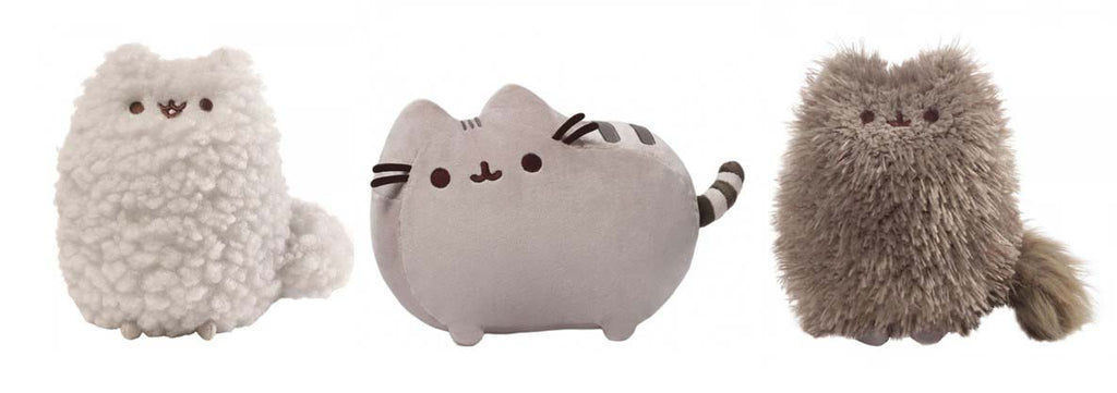 Medium Classic Pusheen, Pip and Stormy Set 16cm