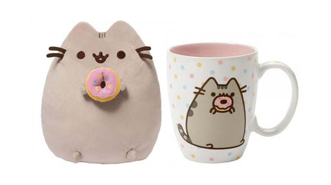 Pusheen Donut Plush and Mug Set