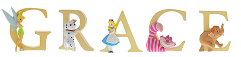 Disney Alphabet Letters  Grace