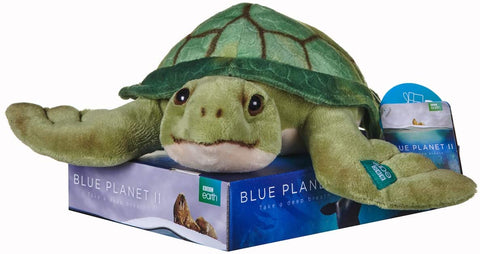 BBC Earth Blue Planet II SEA TURTLE Soft Toy 12456
