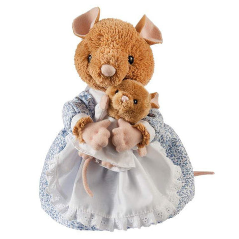 Beatrix Potter Hunca Munca & Baby Large 25cm Soft Toy Peter Rabbit Collection