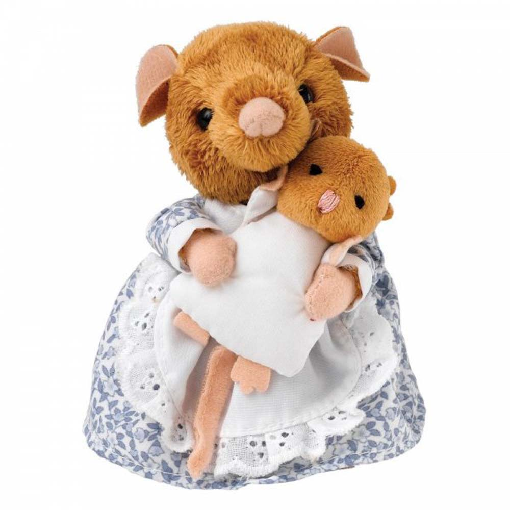 Beatrix Potter Hunca Munca & Baby Small Plush 13cm