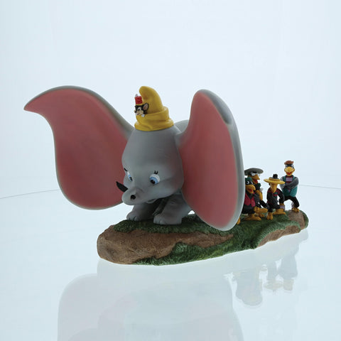 Disney Dumbo Timothy Jim Crow & Brothers Take Flight Figurine 20cm
