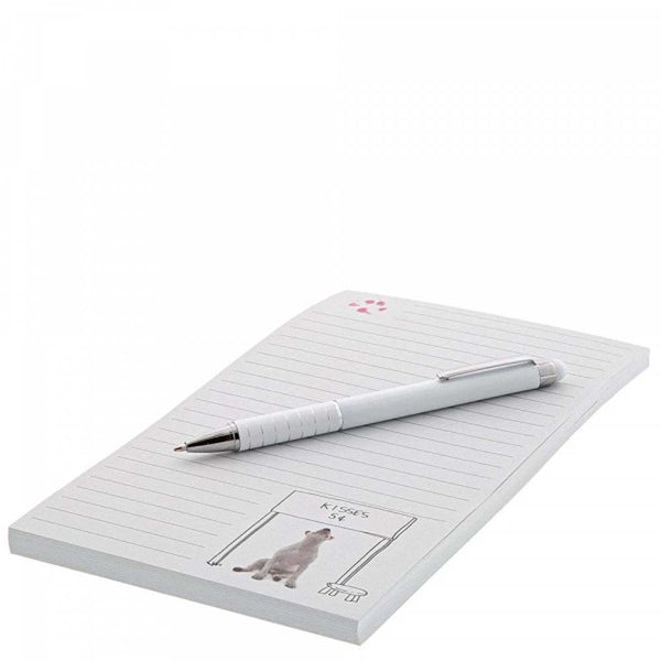 Jimmy The Bull 'Kisses for Sale' Notepad & Pen