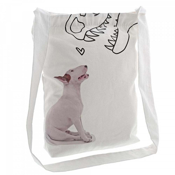 Jimmy The Bull 'Dino Love' Tote Bag